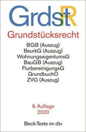 Grundstücksrecht (GrundstR)   Buch   sack.de