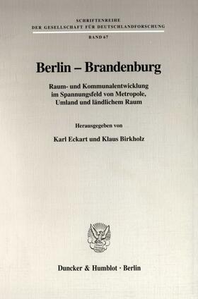 Eckart / Birkholz   Berlin - Brandenburg.   Buch   sack.de
