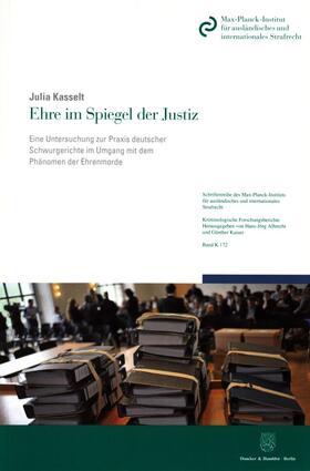 Kasselt | Ehre im Spiegel der Justiz | Buch | sack.de