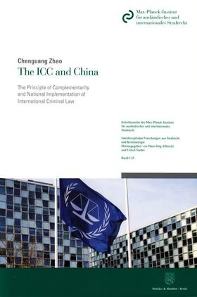 Zhao | The ICC and China | Buch | sack.de