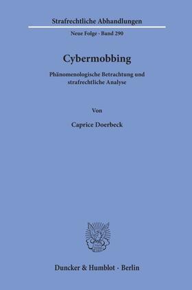 Doerbeck | Cybermobbing | Buch | sack.de
