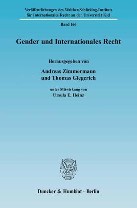 Zimmermann / Giegerich   Gender und Internationales Recht   E-Book   sack.de