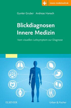 Gruber / Hansch | Blickdiagnosen Innere Medizin | Buch | sack.de