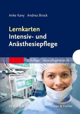 Kany / Brock | Lernkarten Intensiv- und Anästhesiepflege | Sonstiges | sack.de