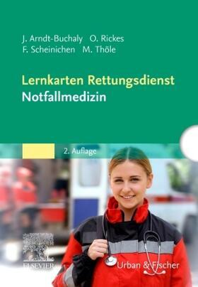 Arndt-Buchaly / Scheinichen / Thöle | Lernkarten Rettungsdienst - Notfallmedizin | Sonstiges | sack.de