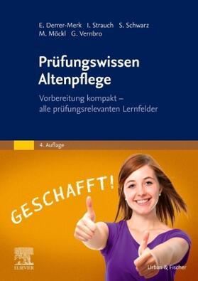 Derrer-Merk / Strauch / Schwarz | Prüfungswissen Altenpflege | Buch | sack.de