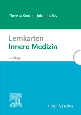 Knoche / Rey | Lernkarten Innere Medizin | Sonstiges | sack.de