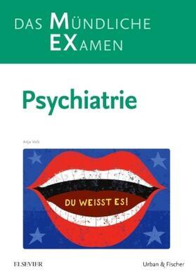 Volz | MEX Das Mündliche Examen - Psychiatrie | Buch | sack.de