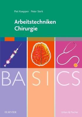 Koeppen / Sterk   Arbeitstechniken Chirurgie   Buch   sack.de