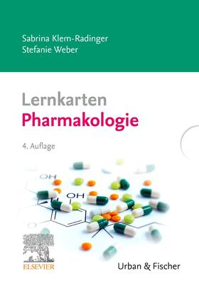 Klem-Radinger / Weber   Lernkarten Pharmakologie   Sonstiges   sack.de