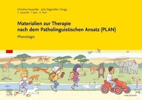 Kauschke / Siegmüller   Materialien zur Therapie nach dem Patholinguistischen Ansatz (PLAN), Therapiekasten m. 2 Audio-CDs   Buch   sack.de