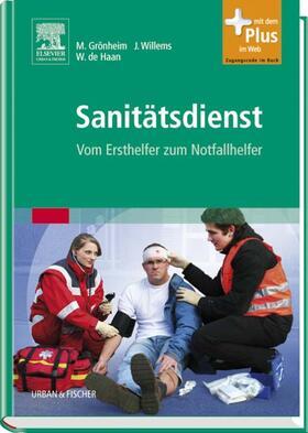 Haan / Grönheim / Willems | Sanitätsdienst | Buch | sack.de