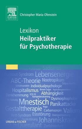 Ofenstein   Lexikon Heilpraktiker für Psychotherapie   Buch   sack.de