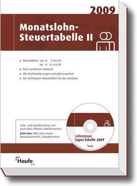 Monatslohn-Steuertabelle II 2009 | Buch | sack.de