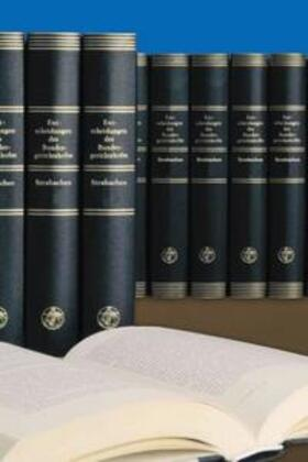 Entscheidungen des Bundesgerichtshofes in Strafsachen BGHSt / Entscheidungen des Bundesgerichtshofes in Strafsachen BGHSt | Buch | sack.de