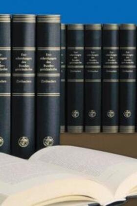 Entscheidungen des Bundesgerichtshofes in Zivilsachen BGHZ / Entscheidungen des Bundesgerichtshofes in Zivilsachen BGHZ | Buch | sack.de