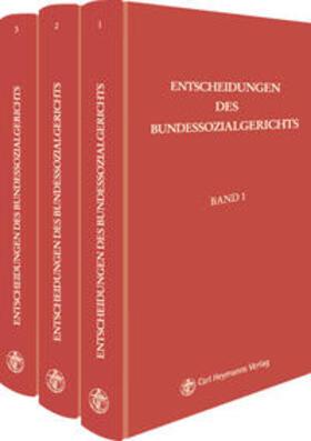 Entscheidungen des Bundessozialgerichts | Buch | sack.de