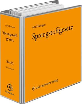 Apel / Keusgen | Sprengstoffgesetz | Loseblattwerk | sack.de