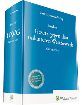 Büscher | Gesetz gegen den unlauteren Wettbewerb: UWG | Buch | Sack Fachmedien