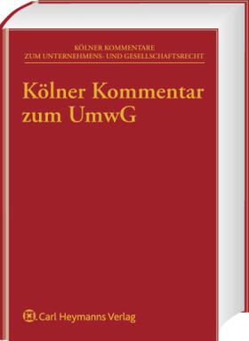 Dauner-Lieb / Dauner-Lieb / Simon | Kölner Kommentar zum UmwG | Buch | sack.de