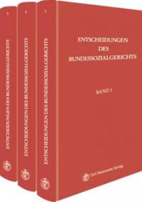 Entscheidungen des Bundessozialgerichts / Entscheidungen des Bundessozialgerichts   Buch   sack.de