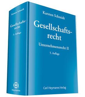 Schmidt | Gesellschaftsrecht | Buch | sack.de