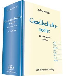 Schwerdtfeger | Gesellschaftsrecht | Buch | sack.de