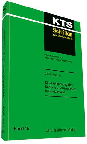 Kusche | Die Anerkennung des Scheme of Arrangement in Deutschland | Buch | sack.de