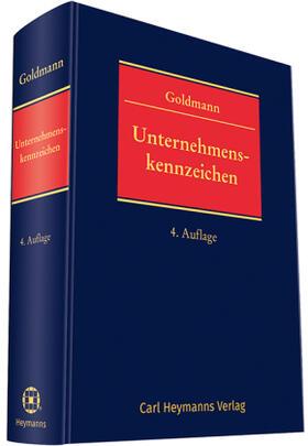 Goldmann   Unternehmenskennzeichen   Buch   sack.de