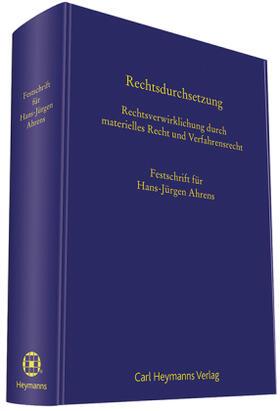 Büscher / Erdmann / Fuchs | Rechtsdurchsetzung | Buch | sack.de