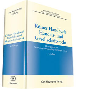von Rechenberg / Ludwig / Ludwig   Kölner Handbuch Handels- und Gesellschaftsrecht   Buch   sack.de