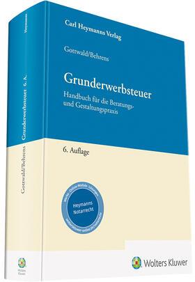 Gottwald / Behrens / Seemaier | Grunderwerbsteuer | Buch | sack.de
