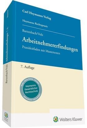 Bartenbach / Volz | Arbeitnehmererfindungen | Buch | sack.de
