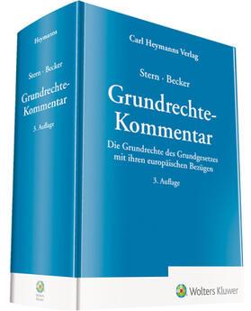 Stern/Becker    Grundrechte-Kommentar   Buch   sack.de