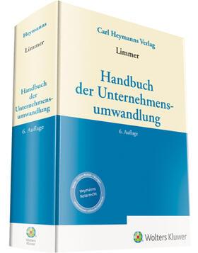 Limmer | Handbuch der Unternehmensumwandlung | Buch | sack.de