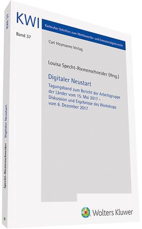 Specht-Riemenschneider | Digitaler Neustart | Buch | sack.de