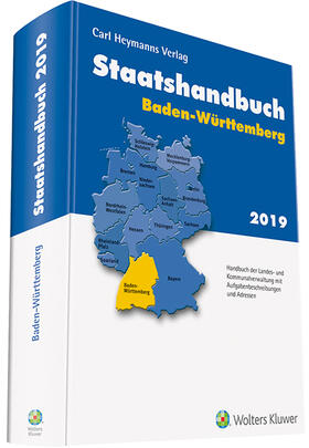 Staatshandbuch Baden-Württemberg 2019   Buch   sack.de