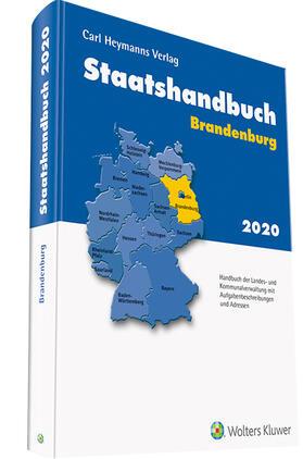 Staatshandbuch Brandenburg 2020 | Buch | sack.de