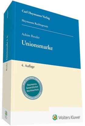 Bender | Unionsmarke | Buch | sack.de