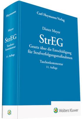 Meyer | StrEG - Kommentar | Buch | sack.de