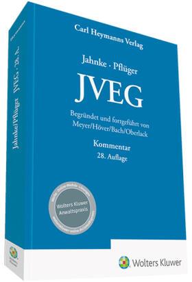 Meyer / Höver / Bach   JVEG - Kommentar   Buch   sack.de
