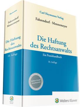 Fahrendorf / Mennemeyer / Fahrendorf | Die Haftung des Rechtsanwalts | Buch | sack.de