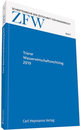 Reinhardt | Trierer Wasserwirtschaftsrechtstag 2019 | Buch | sack.de