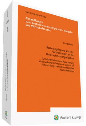 Böhmer   Rechnungslegung und ihre Anforderungen an die Unternehmensorganisation   Buch   sack.de
