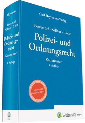 Pewestorf / Söllner / Tölle   Polizei- und Ordnungsrecht   Buch   sack.de