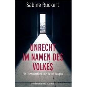 Rückert | Unrecht im Namen des Volkes | Buch | sack.de