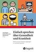 Sappok / Burtscher / Grimmer Einfach Sprechen über Gesundheit und Krankheit   Sack Fachmedien