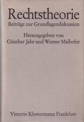 Jahr / Maihofer   Rechtstheorie   Buch   sack.de