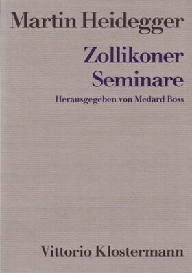 Heidegger / Boss | Zollikoner Seminare | Buch | sack.de
