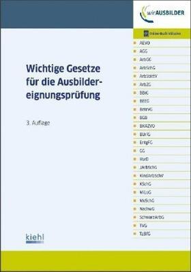 Wichtige Gesetze für die Ausbildereignungsprüfung | Buch | sack.de